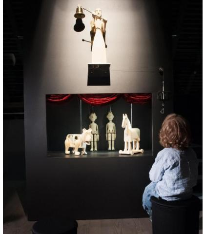 Guided Tour of the Museum of Puppetry