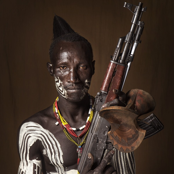 Member of the Karo (Southern part of the Omo River basin in Ethiopia)
